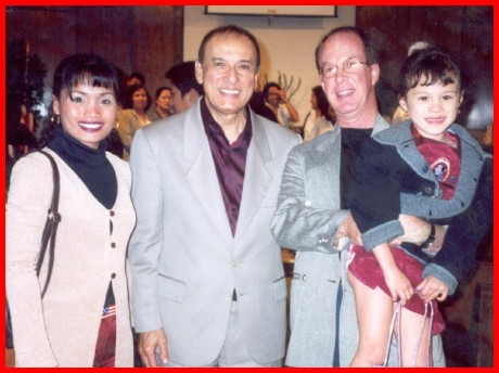 The Davison Family with Filipino Screen Legend Eddie Mesa