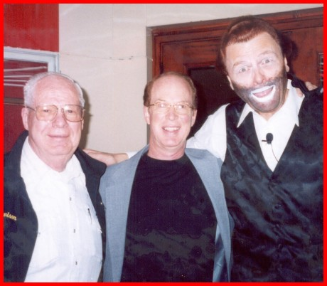Pat and his dad with Red Skelton look-alike Tom Mullica